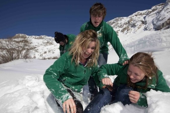 More fun snowy times in Val d'Isere