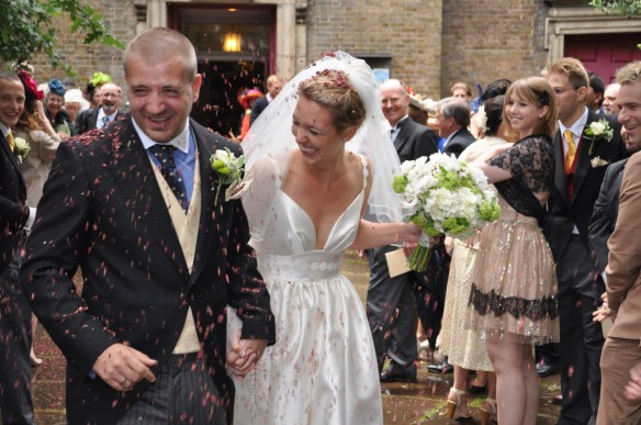 I'm not sure the confetti experience looks all that fun based on these photos!!